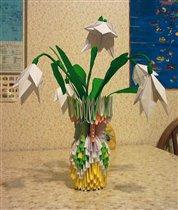 Подснежники Оригами