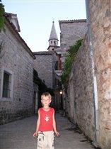 В старом городе - Будва.Черногория