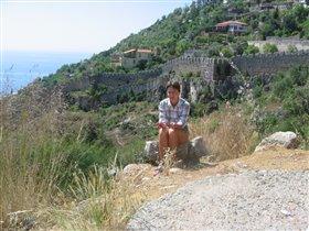 Крепость в Алании, Турция
