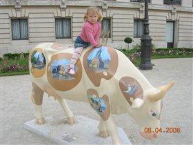 Парижская коровка!