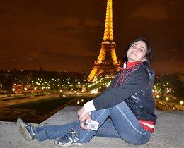Огни ночного Парижа