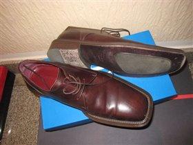 мужские туфли Kashura 500руб 41разм