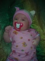 Кристиночке 2 месяца