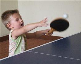 Пинг-понг без остановки или первые уроки тенниса