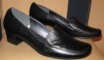 Туфли натур. кожа. Очень мягкие 40 размер