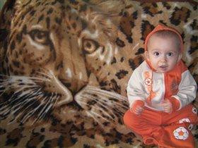 Вовочка-маленький лев!!!