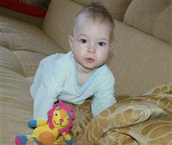 Александр - Лев, 7 месяцев