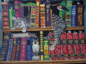 кот-книголюб