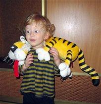 Мой любимый тигрёнок
