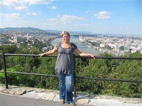 Вид на Будапешт, Венгрия