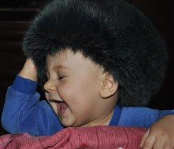 Все-таки примеряю бабушкину шапку :)