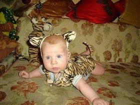 Серафим-Лев!вырасту и буду львом!а пока...котенок!