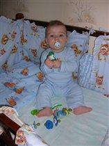 Арсюша 5,5 месяца. Мои сосочки!!!