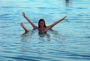 Мертвое море, одно из чудес мира.