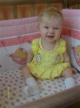 Верочка, 8 месяцев, знак зодиака - Лев!