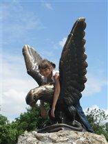 Орел на Горячей горе в Пятигорске