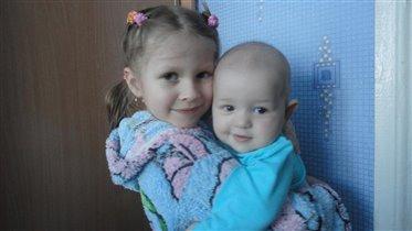 Инесса и Артем.У меня родился братик.И зовут его
