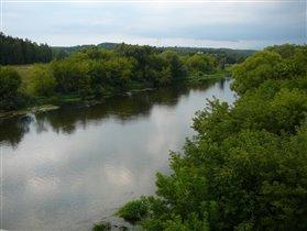 Москва-река, Звенигород