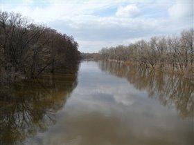 Река Десна в Брянске