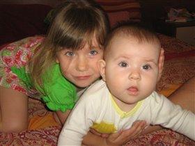 Две сестрёнки -  две куклёнки