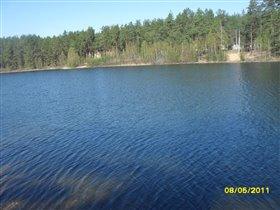 Зеленое озеро. г.Луга