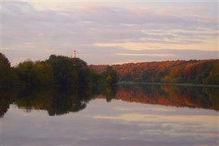 Осень в Филевском парке