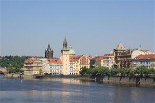 река Влтава, Прага