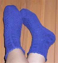 синенькие носочки
