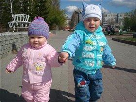 Сестрёнка и братишка