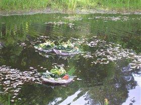 один из прудов в Павловске.