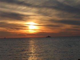 Сочи, море, закат...