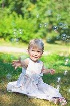 Солнечный денек и мыльные пузырики