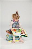 Вот как книжки я читаю! Вечер, так я коротаю!