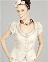 Жакет Ло с рукавами-фонариками 44 размер