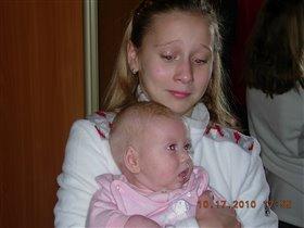 Ой,какая маленькая,но уже такая тяжелая))))