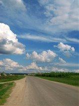 По дороге с облаками....
