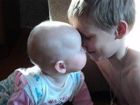 Настя и Ярик. Братская любовь.