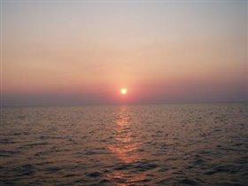 закат в Сукко (Анапа)