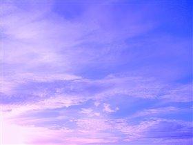 Небо, море, синева.