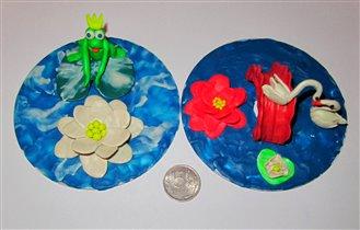'Царевна лягушка' и 'Лебединое озеро'