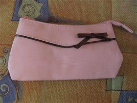 Косметичка розовая