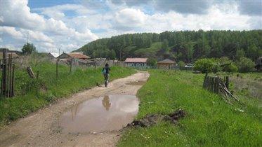 деревенская дорога