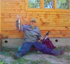 счастливый день рыбака!