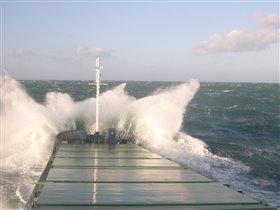 Октябрь в Северном море