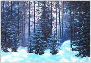 Зимний лес - www.artist-ua-i.narod.ru