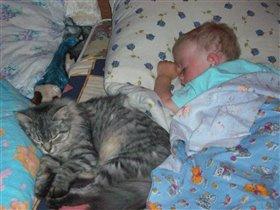 Спи моя радость...