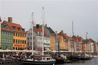 Nyhavn, Копенгаген