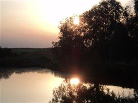 два солнца на закате...