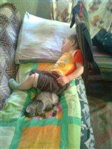 неразлучны даже во сне