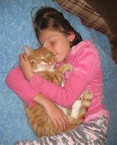 Кошки и дети : Послеобеденный сон